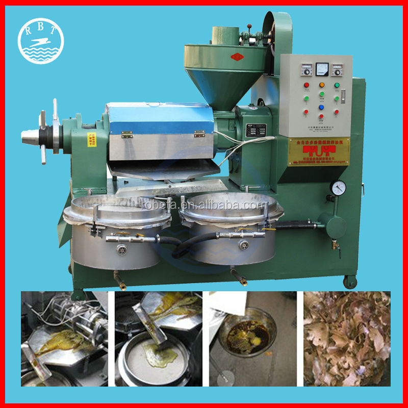 Hot Sale China Manufacturer small screw oil press for soybean