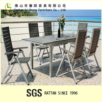 Plastic Wood Garden Furniture,Cheap Waterproof Outdoor Furniture,Used Coffee Shops Table and Chairs