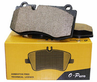 ISO9001/TS 16949 E-MARK Best Auto Break Pad Ceramic Brake Pads For Korean Japanese European American Cars for sale