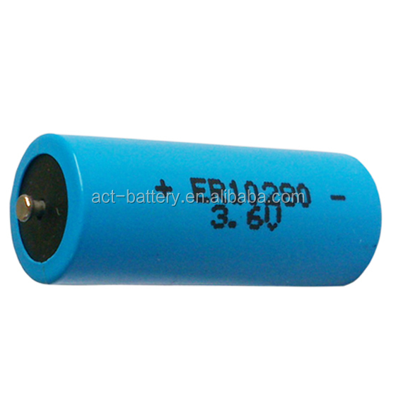 2/3 AAA,ER10280 ACT lithium battery, 500 mAh Operating Temp Range:-55C~+85C