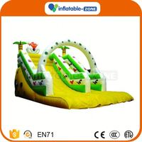 Super quality inflatable water slides for sale free blower inflatable slide