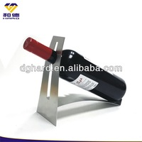 stainless steel antique fancy arc red bottle holder