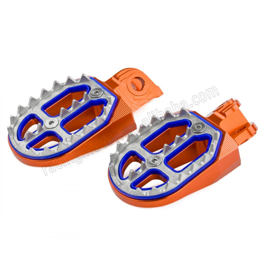 Wholesale F 125 Online Buy Best From China Wholesalers Wiring Diagram Ktm Exc Six Days 200 Dirt Bike Shark Tooth Mx Racing Foot Pegs For 65 85 105 Strong