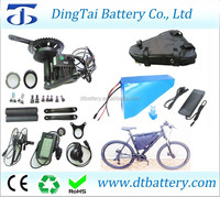 Triangle frame battery pack 48V 30Ah with 8fun BBS03 48V 1000W mid drive motor+54.6V 4A charger