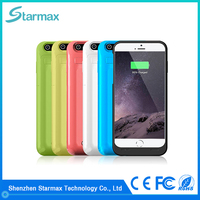 2016 New Arrival Factory Prices 3500mAh external battery case for iphone 6