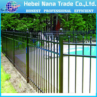 aluminium used pool fence