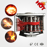 Industrial electric 30 tons melting aluminum furnace from factory price
