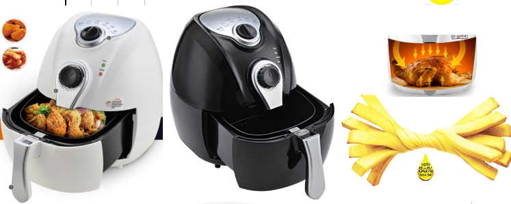 2.7L 5 Star Chef Air Deep Fryer Low Fat Oil Less Rapid Healthy Deep Cooker Multi