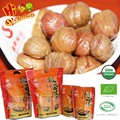 Vacuum packed roasted chestnuts snacks for sale