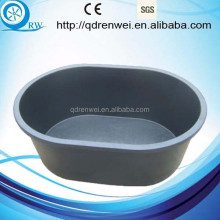 large Rubber Water Bucket Rubber Feed Tub for animal