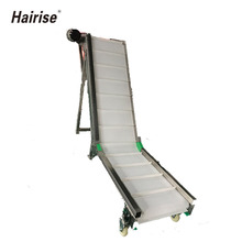 Hot sell inclined belt conveyor with low price for food transport/ Food grade conveyor belts