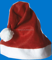 2016 cheaper Red felt christmas Santa Hat Adult Accessory