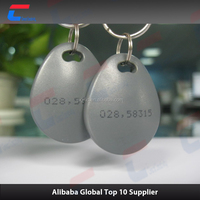 new product ISO Standard 125khz / 13.56mhz Contactless cheap RFID Smart Keyfobs /key chain wi keyfob with 13.56mhz / 125khz chip