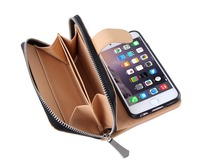 China Suppliers Luxury Cell Phone Wallet Covers For iPhone 6S