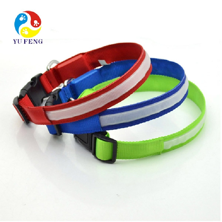 LED dog collar pet products hot sell products altomatic dog products