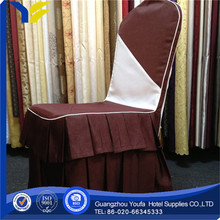 twill wholesale 100% cotton throne metal folding chair cover