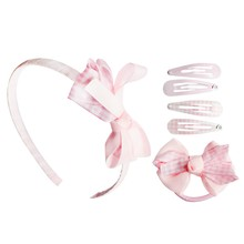 Cheap stocked back to school kids hair accessories grosgrain ribbon girls <strong>headband</strong> for sales