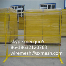Canada temporary fence panel/ decorative wire fence panel