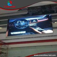 2016 new inventions good quality indoor full color led screen module display p7.62 auto led
