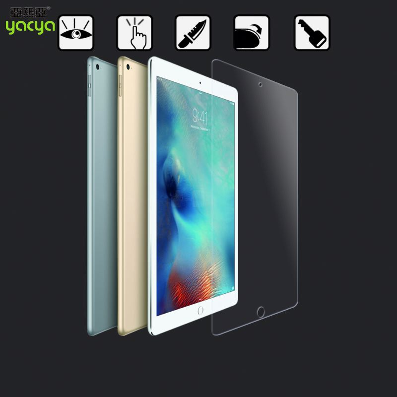 Reinforced glass screen protector for ipad Air, MOQ50pcs with wholesale