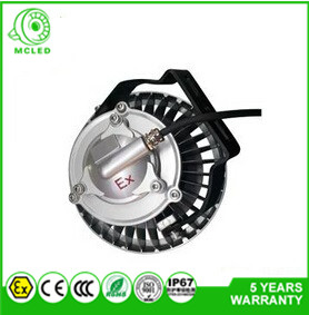 COB Bridgelux chip ATEX certified IP67 220VAC Zone1 and Zone 2 LED Explosion Proof flood lamp