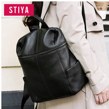 2017 Wholesale Laptop Bag, Popular Woman Custom Genuine Leather School Manufacturer China Bag Travelling Backpack genuine leathe