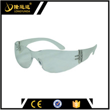 Plastic Glasses Transparent Dust Protection Goggles UV400