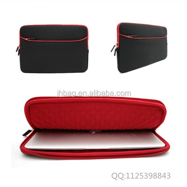 Wholesale High quality Neoprene waterproof laptop sleeve with zipper