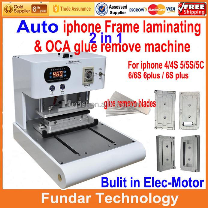 For iPhone Frame Fixing/ Laminator Machine, Assembly Frame on LCD Screen for iPhone 4 5 6