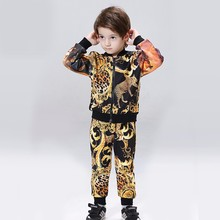 2017 wholesale baby boys authentic kids clothing branded set clothes