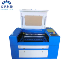 cnc laser engraving machine RF-5030-CO2-50W for cutting crystal ,wood,plywood,glass
