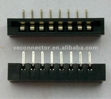 2.54mm 8pin fpc connector,No zif,side entry,used for keyboard