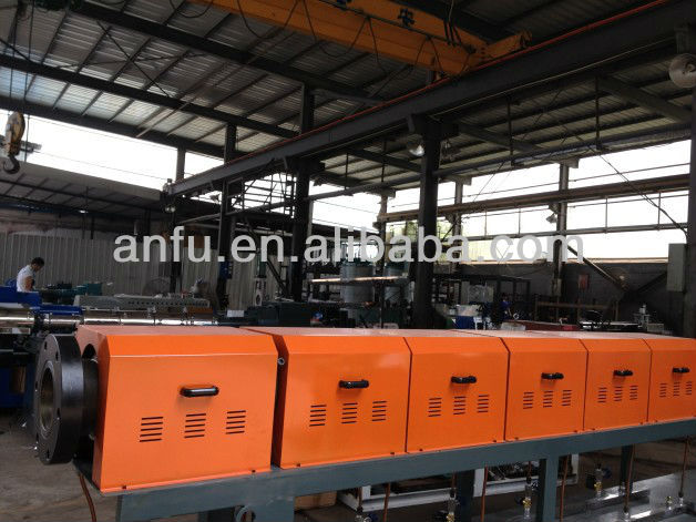 AFSJ-120mm Recycling and Color Mixing Pelletizing Machine