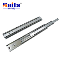 53mm Double Extension Telescopic Furniture Table Drawer Slide