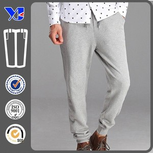 Popular comfortable high quality draw string men sports jogger pants