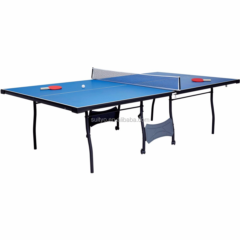 4pcs table tennis table, Table Tennis Set, Regulation Ping Pong Table with Net,