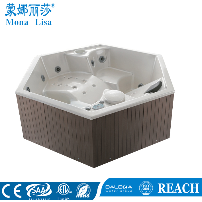 Factory Hexagon Jet Massage Hot Tub For Sale SPA (M-3330)