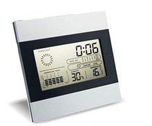 electronic professional meteorological precision home weather station/acurite automatic indoor desktop clock weather station