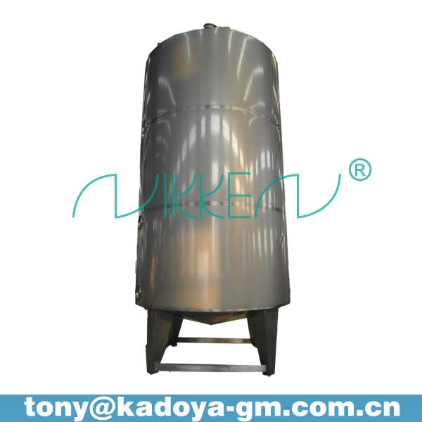 4000L stainless steel liquor vessel inox