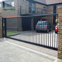 Beautiful high quality metal wrought iron sliding house main gate designs