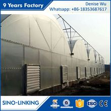 SINOLINKING Commercial polytunnel 200 micron uv resistant plastic film greenhouse agricultural