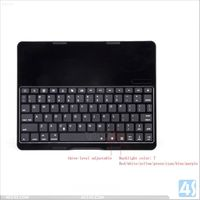 English Amazon Aluminum Alloy Backlighting Wireless Bluetooth Keyboard for iPad Air 5 P-IPD5CASE080