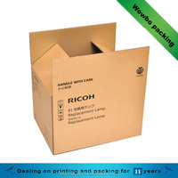 Factory Custom Corrugated Carton box Corrugated Shipping carton Packing Materials with good quality wholesale