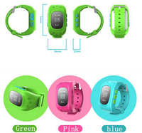 Kids GPS Tracker Smart Watch Q50 Eith GSM SOS Calling Function For Children Kids GPS Watch