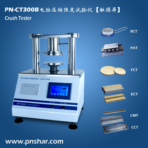 Edgewise Crush Tester Ect Testing Machine