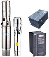 solar systerm inverter /solar panel powered submersible water pump battery /intelligence controller