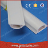 Plastic pvc floor cable duct raceway in semicircular type