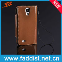 fashion cover case for samsung galaxy s4 i9500 PU leather