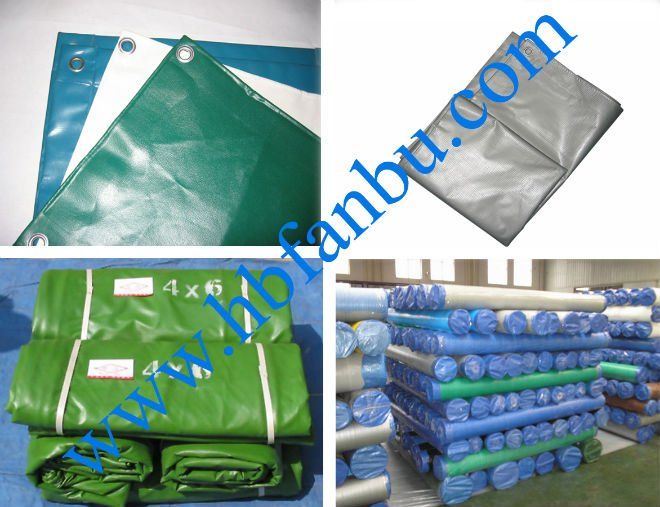 PVC coated tarpaulin sheet