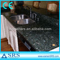 Green color verde butterfly granite countertops